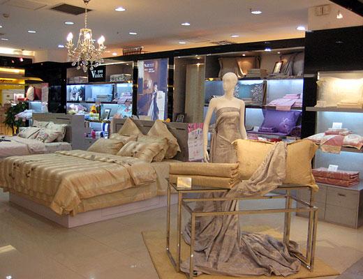 四件套模特家纺模特紫罗兰家纺家纺模特陈列